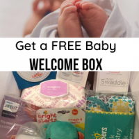 FREE Amazon Baby Welcome Box + FREE Shipping with Any $10 Amazon Purchase
