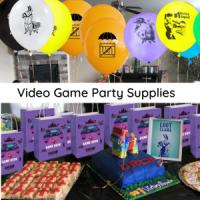Video Game Party supplies