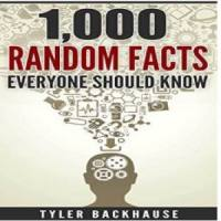 1,000 Random Facts You Should Know: (Facts for bar trivia night, get-together or conversation starter) - Kindle Edition now Free @ Amazon